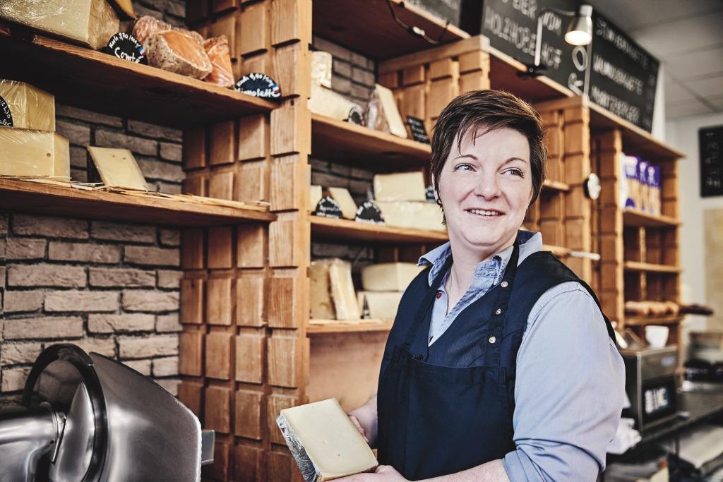Käsesommelière Kathrein van Strien